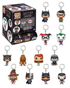 Batman The Animated Series Mystery Pocket POP! Vinyl Keychains