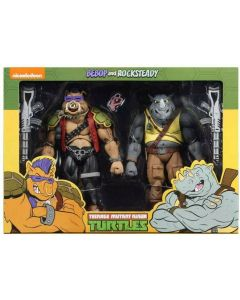 Teenage Mutant Ninja Turtles Rocksteady and Bebop Cartoon Series 2 NECA