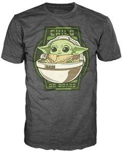 Star Wars The Mandalorian Child on Board T-Shirt
