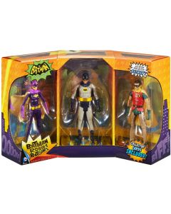 Batman 1966 3-Pack Batman Robin Batgirl