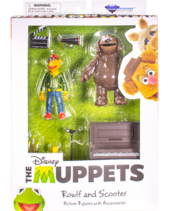 The Muppets Select Series Rowlf the Dog & Scooter