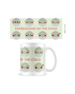 Star Wars Mandalorian: Grogu / The Child / Baby Yoda Expressions Tasse / Mug