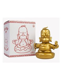 Simpsons Vinyl Figur Golden Buddha Homer 8 cm