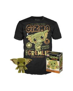 Gremlins POP!Vinyl Figur & T-Shirt Set Gizmo
