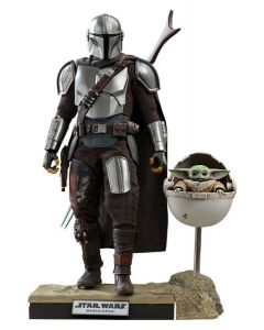 Star Wars The Mandalorian 1/6 30cm The Mandalorian & The Child Doppelpack Hot Toys DELUXE EDITION