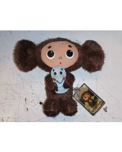 Cheburashka with Mouse Plush
