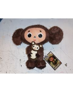 Cheburashka with Bear Plush