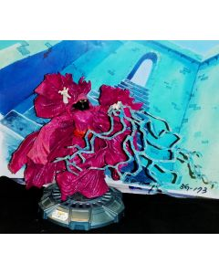 MASTERS OF THE UNIVERSE: Shadow Weaver Custom Figure ca 6 inch- She-Ra / Horde