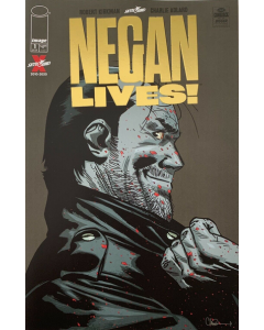 The Walking Dead Negan Lives! #01 Gold Variant
