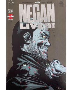 The Walking Dead Negan Lives! #01 Silver Variant