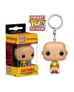 One-Punch Man Saitama Pop! Keychain