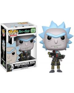 Rick & Morty Weaponized Rick Pop! Vinyl