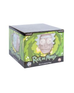 Rick and Morty 3D Shaped Rick Head Tasse / Mug