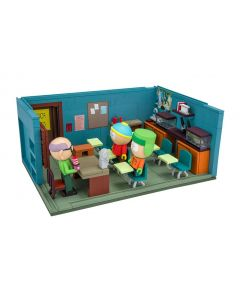 South Park Large Bauset Cartman, Kyle & Mr. Garrison & Classroom
