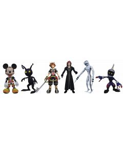 Kingdom Hearts Select Mickey, Axel and Shadow
