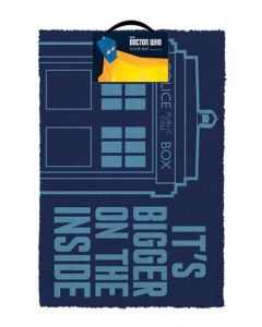 Doctor Who Tardis Fussmatte / Doormat