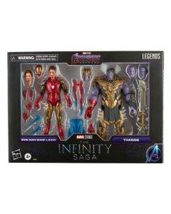 The Infinity Saga Marvel Legends Series Actionfigur 2021 Thanos & Iron Man (Avengers: Endgame)
