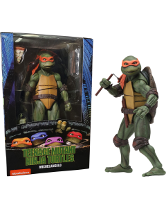 Teenage Mutant Ninja Turtles Michelangelo 1990 Movie NECA