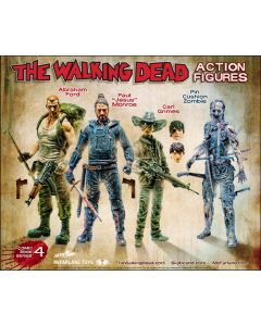 """The Walking Dead Comic Ser. 4 Paul """"Jesus"""" Monroe"""