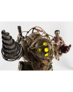 Bioshock 1/6 Big Daddy & Little Sister threezero