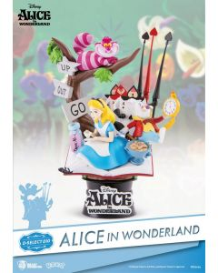 Alice in Wonderland D-Select PVC Diorama