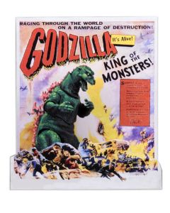 Godzilla 1956 US Movie Poster Head to Tail NECA