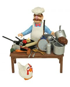 The Muppets Action Figur Swedish Chef Deluxe Gift Set