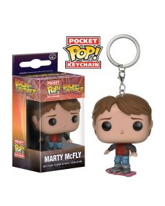Back to the Future II Marty McFly Hoverboard Pop! Keychain