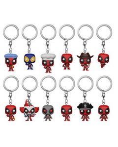 Deadpool Mystery Pocket POP! Vinyl Keychains