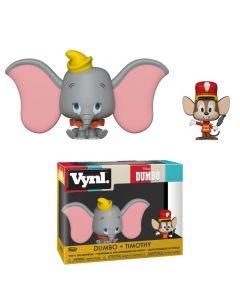 Disney Dumbo VYNL Figuren Doppelpack Dumbo & Timothy