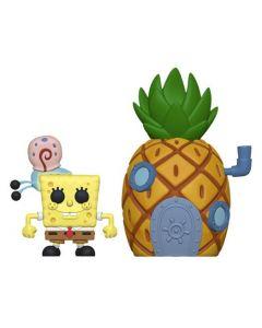 Spongebob with Gary & Pineapple House Pop! Vinyl