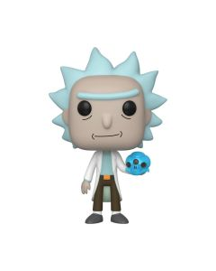 Rick & Morty Rick with Crystal Skull Pop! Vinyl