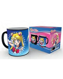 Sailor Moon Moonstick Tasse mit Thermoeffekt / Heat changing mug