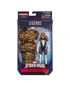 Marvel Legends BAF Molten Man Marvel Spider-Man Spider-Woman