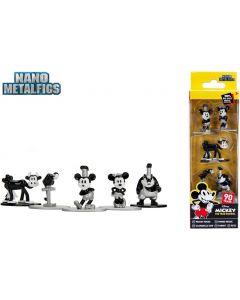 Disney Nano Metalfigs Diecast Minifiguren 5-er Pack Mickey's 90th