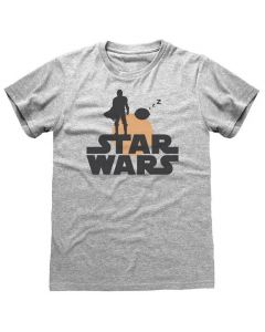 Star Wars Mandalorian: T-Shirt Silhouette
