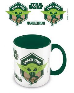 Star Wars Mandalorian: The Child / Baby Yoda Snack Time Tasse / Mug