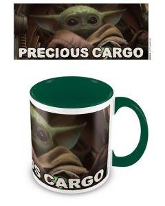 Star Wars Mandalorian: The Child / Baby Yoda Precious Cargo Coloured Inner Tasse / Mug