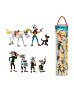 Lucky Luke Minifiguren 7er-Set