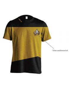 Star Trek TNG Gold T-Shirt