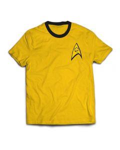 Star Trek TOS Gold T-Shirt