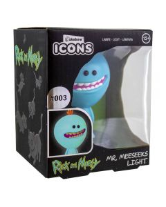 Rick & Morty 3D Icon Lampe Mr Meeseeks