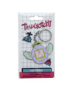 Tamagotchi Metall-Schluesselanhaenger