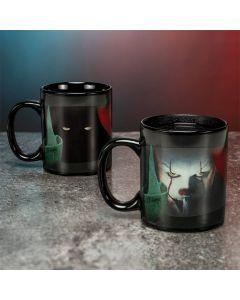 Stephen Kings Es/It Pennywise Tasse mit Thermoeffekt / Heat changing mug