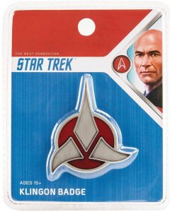Star Trek TNG Replik 1/1 Klingon Emblem Badge