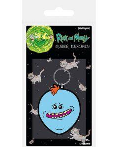 Rick & Morty Mr. Meeseeks Gummi Keychain / Schlüsselanhänger