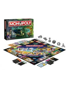 Rick & Morty Monopoly *Deutsche Version*