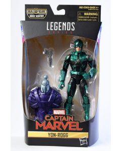 Marvel Legends BAF Kree Sentry Captain Marvel Yon-Rogg