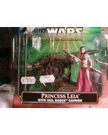 E6: Princess Leia + Sail Barge Cannon