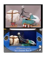 NIGHTMARE BEFORE CHRISTMAS: Jack Skellington in Snowmobile Box Set